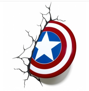 captain america shield wall light from truffle shuffle
