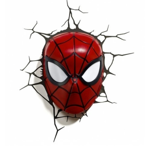 spiderman mask wall light from truffle shuffle