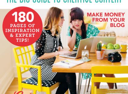 Mollie Makes Blogging magazine