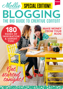 Mollie Makes Blogging magazine