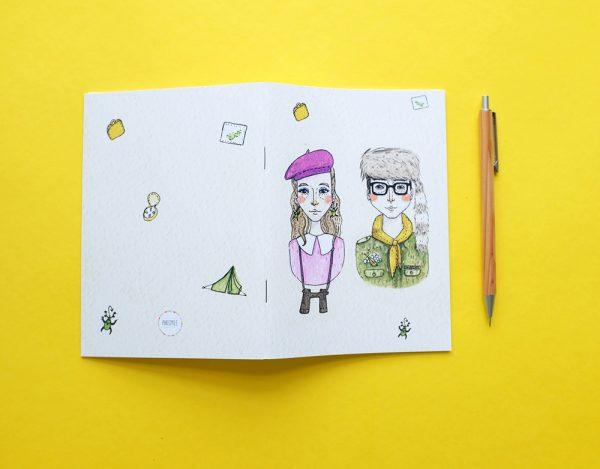 moonrise kingdom notebook