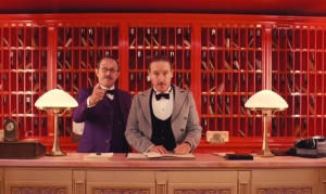 owen wilson in The Grand Budapest Hotel