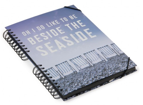 seaside scrapbook from paperchase