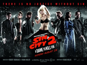 sin city 2 a dame to kill for poster