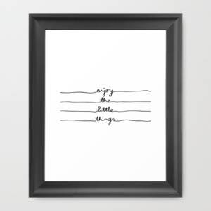 little things print from society 6