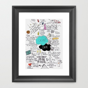 the fault in our stars print from society 6