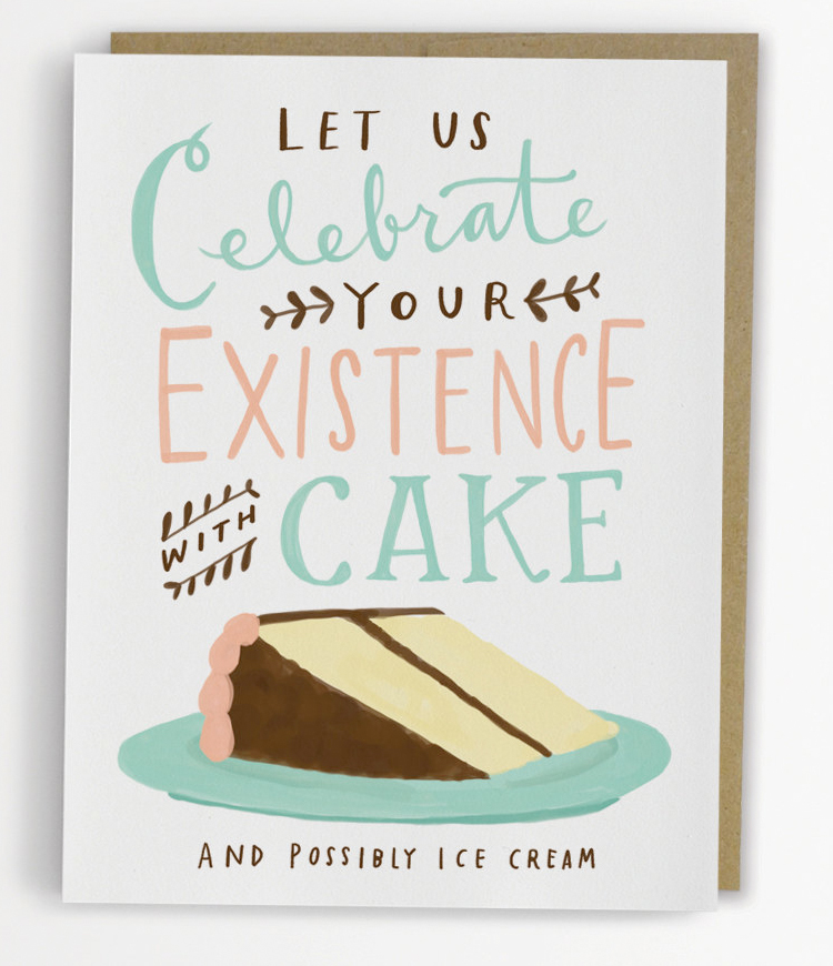 Item of the day: Cake birthday card from Etsy – A Cornish Geek