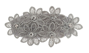 Fabric Flower Clip from Dorothy Perkins