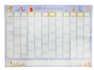 dreamscape wall planner from paperchase