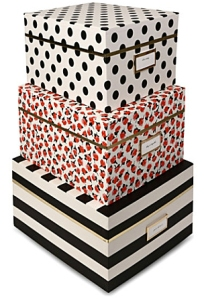 kate spade nesting boxes from selfridges