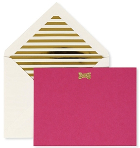 kate spade notecard set from selfridges