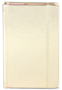 kate spade little gold notebook from selfridges