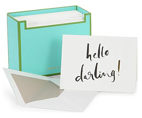 kate spade notecards from selfridges