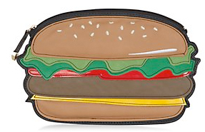 burger clutch from new look