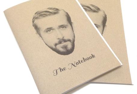 ryan gosling notebook from la la land