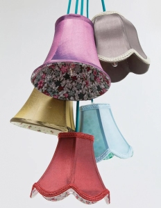 vintage light shade from not on the high street