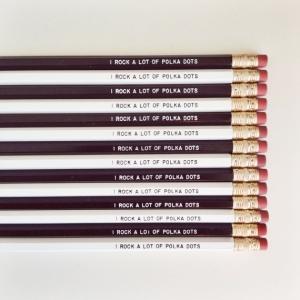 new girl pencils from dottie rocks
