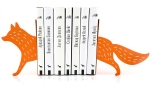 fox bookends from howkapow