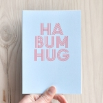 ha bum hug cards from bread and jam