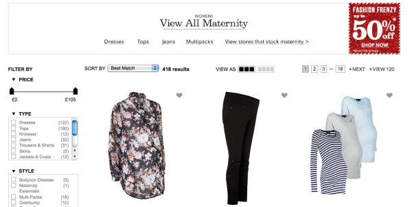 new look maternity clothes
