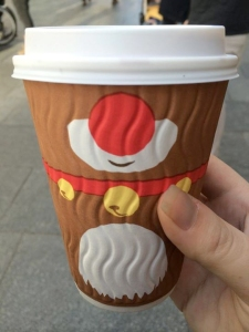 christmas costa cup