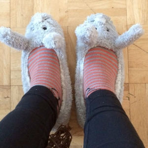 rabbit slippers from next