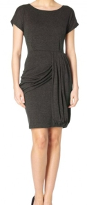 draped dress from yumi