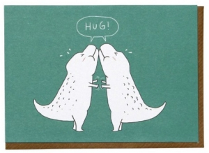 hug valentines day card from paperchase