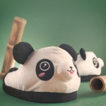 kawaii panda slippers from firebox