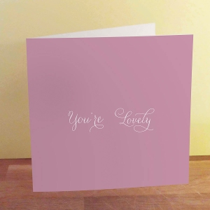 lovely valentines day card from not on the high street