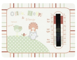 olive and henri room thermometer from toys r us