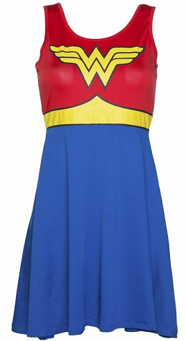 wonder woman dress from truffle shuffle