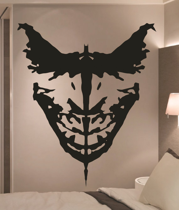batman wall art from etsy
