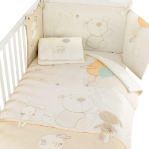 bear cotbed bedding pack from babies r us