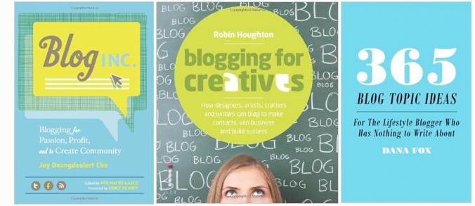 blogging books - blogging