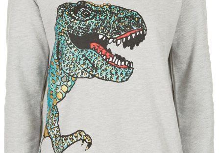 dinosaur jumper from topshop