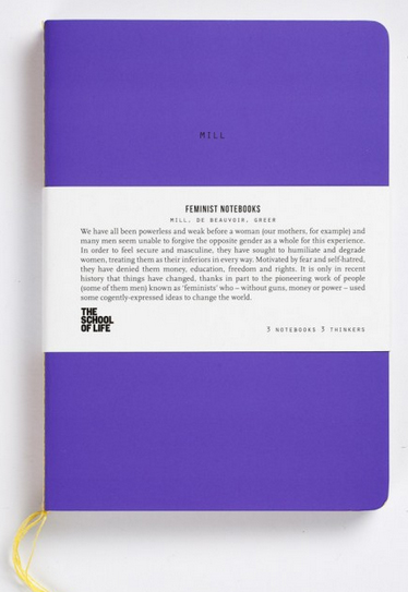 feminist notebooks from the school of life