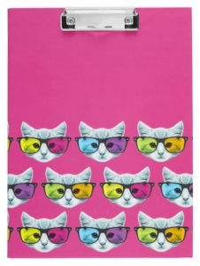 geek kitty a4 padfolio from paperchase