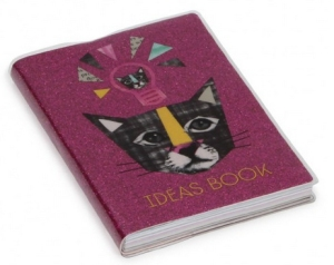 geek kitty ideas notebook from paperchase
