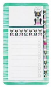 geek kitty magnetic writing pad from paperchase