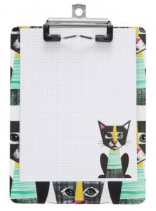 geek kitty mini clipboard