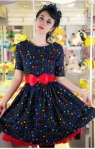pacman dress from silly old sea dog