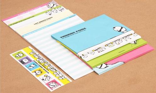 panda letter writing set