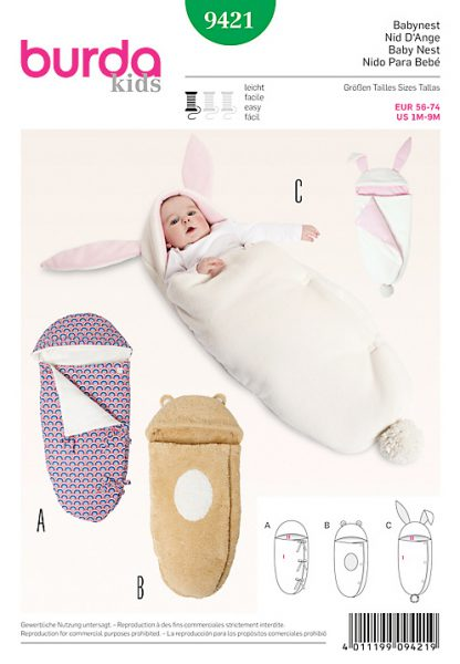 swaddling blanket sewing pattern from john lewis