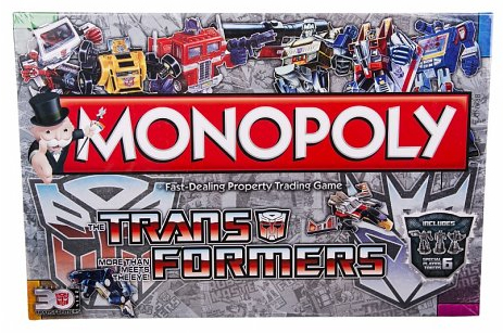 transformers monopoly from truffle shuffle