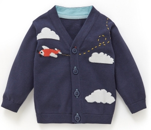 aeroplane cardigan from marks and spencer