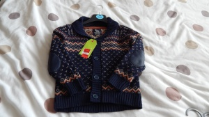boy's cardigan from primark