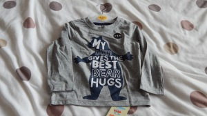 boys bear hug t-shirt from primark