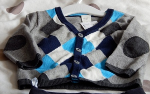 baby boy cardigan from H&M