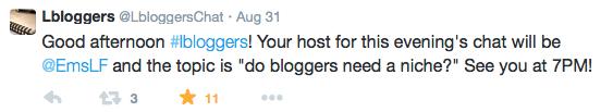 lbloggers chat